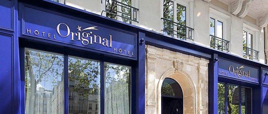 Soirée a l'hôtel Original à Paris
